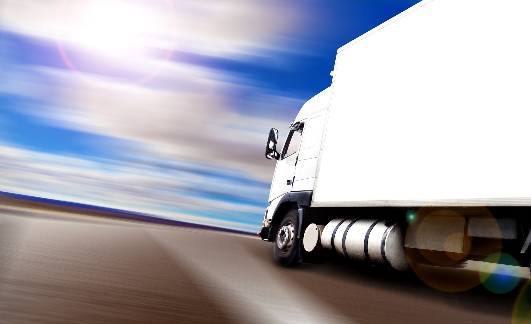 Abstract background Trucks and transport.Highway and delivering.Speed delivering